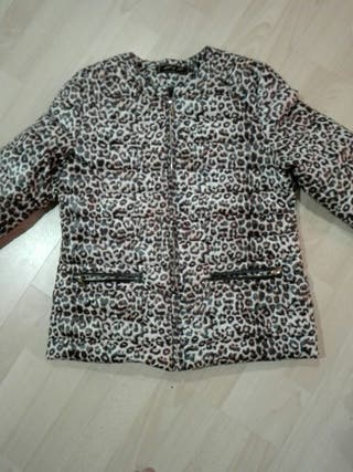 anorak de leopardo