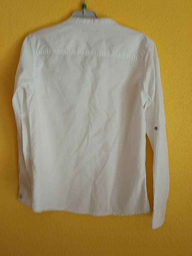 Camisa niño Lefties cuello mao, talla 140 cm.