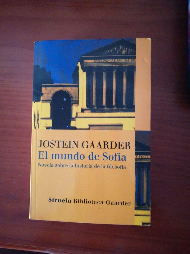 El Mundo de Sofia. Jostein Gaarder