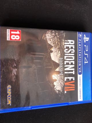 JUEGO PARA PS4 RESIDENT EVIL IMPECABLE