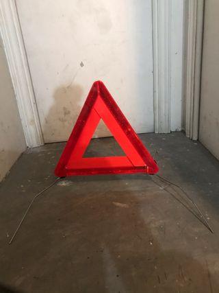 Triángulo coche