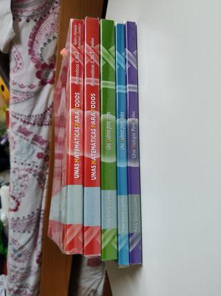 libros academias osorio, 2 bachiller, selectividad