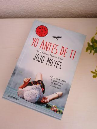 Libro Yo antes de ti de Jojo Moyes