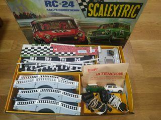 SCALEXTRIC RC24 RALLYE COMPETICIÓN (1971) + AMPL