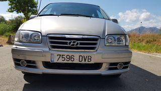 Hyundai Trajet 2006 pegatina medioambiental B