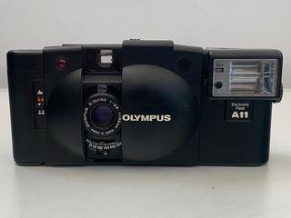 Olympus XA2 & A11 Flash