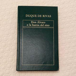 Libro Don Álvaro o la fuerza del sino