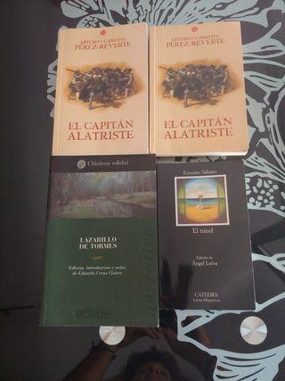 EL CAPITAN ALATRISTE, EL TUNEL, LAZARILLO DE TORME