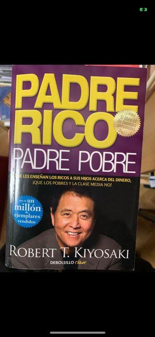 Libro padre rico padre pobre Robert Kiyosaki