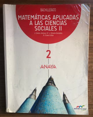 LIBRO de MATEMÁTICAS aplicadas a las CCSS II