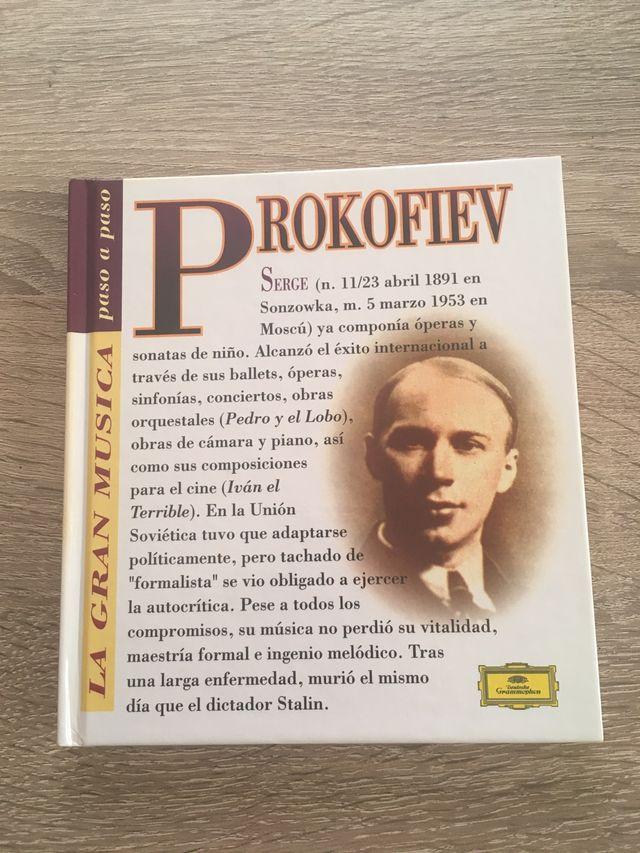 Cd + libro Prokofiev