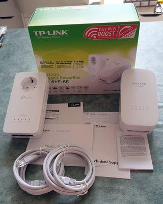 PLC TP-Link TL-WPA8730 KIT como nuevo