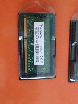 Memoria RAM 1Gb x 2