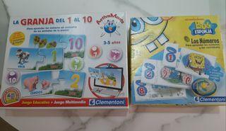 Juegos educativos para aprender los números
