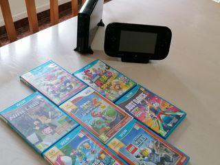 Wii U + 10 Juegos