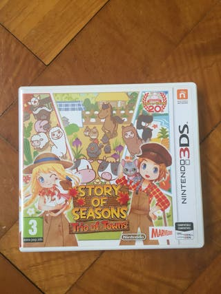 Harvest Moon Story of Seasons Trio of Towns