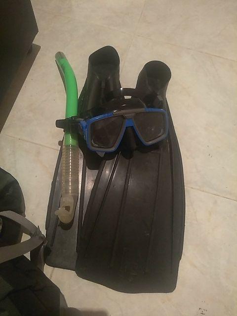 equipo snorkel