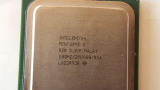 CPU INTEL Pentium D SL8CP 2.8ghz 800