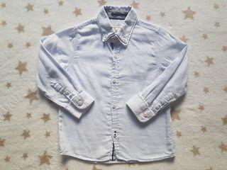 Lote 2 camisas Zara niño (3-4 años)