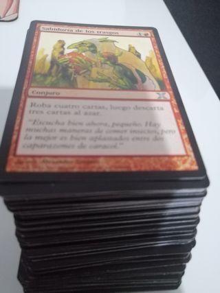 180 cartas infrecuentes Magic