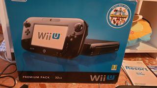 Wii U 32 GB. Premiun Pack + 8 Juegos