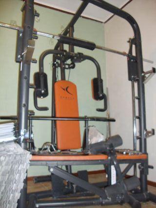 Gimnasio. Máquina multifunción Domyos BM900