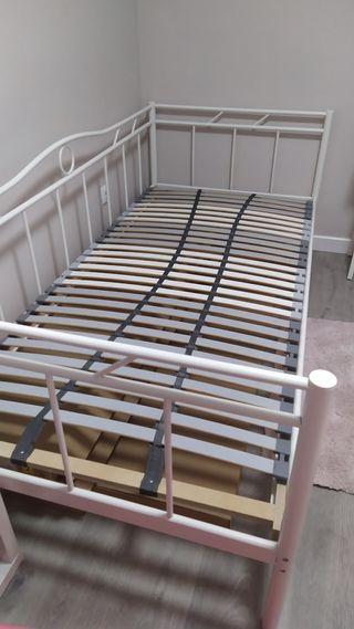 DIVÁN CAMA + SOMIER IKEA