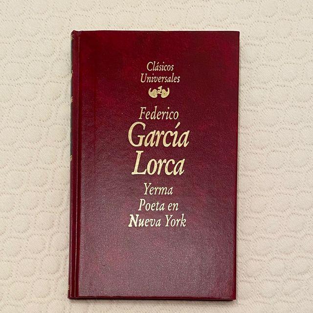 Libro poemario Poeta en Nueva York Lorca