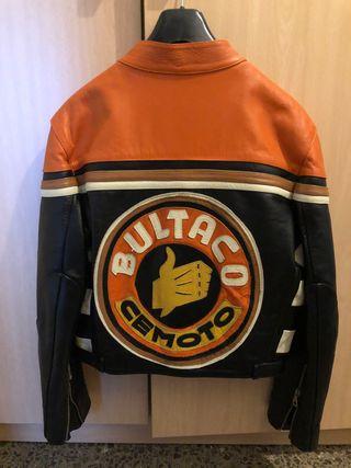 BULTACO chaqueta moto auténtica