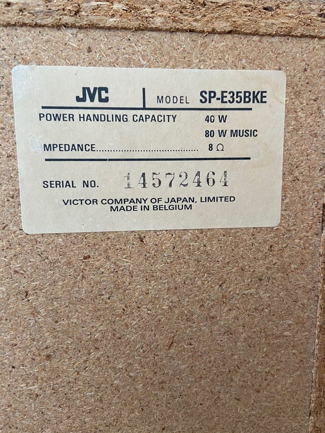 Altavoces JVC SP E35