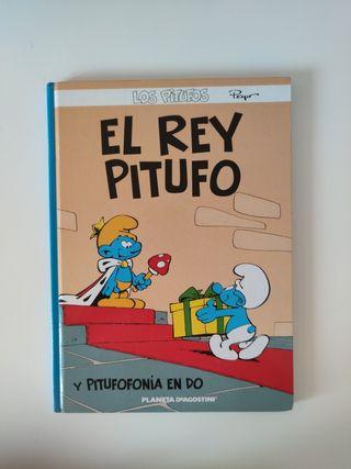 Cómic El rey pitufo y Pitufonía en Do