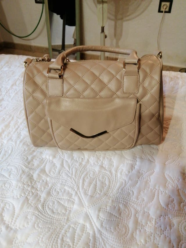 Bolso beige Atmosphere