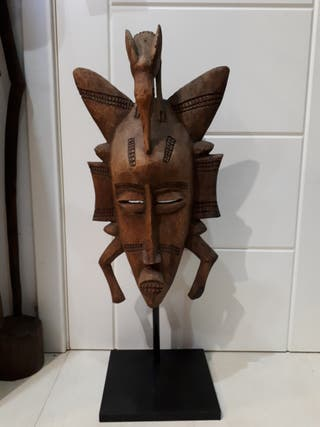 Máscara africana Senufo Mali