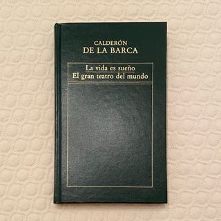 Libro La vida es sueño de Calderón de la Barca