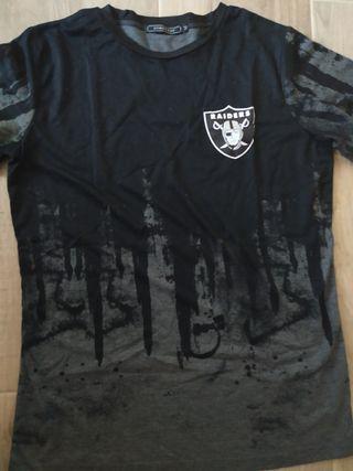 camiseta nfl raiders verano