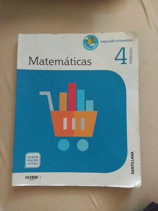 Matemáticas 4 primaria santillana