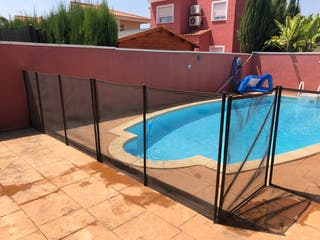 Valla proteccion piscina