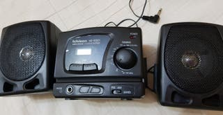 Radio despertador con altavoces Ichison 9001