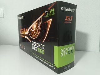 Tarjeta gráfica GTX 1060 6GB