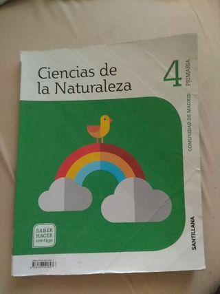 ciencias de la naturaleza 4 primaria santillana