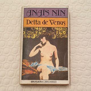 Libro erótico Delta de Venus
