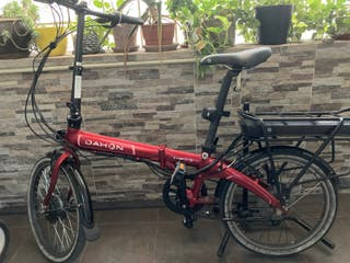 Bicicleta eléctrica plegable Dahon Vybe D7 (2017)