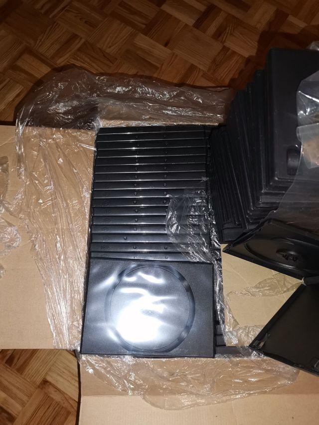 220 Cajas Vacías para DVD, CD, Bluray