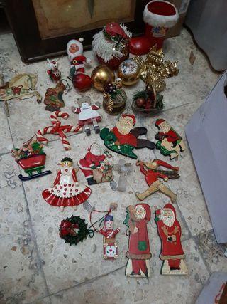 lote de adorno de navidad