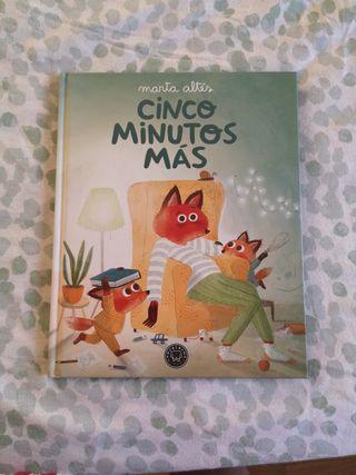 libro cuento'' cinco minutos mas' '