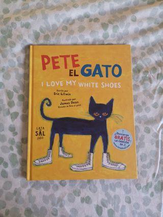 libro cuento '' pete el gato''