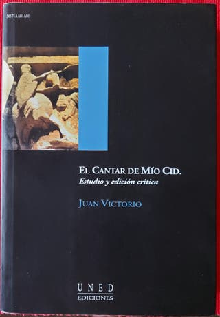 Cantar de Mio Cid. Edición de Juan Victorio. UNED