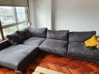 Sofá con chaise longue XXL