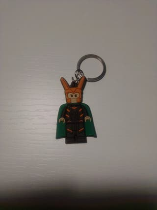Llavero Loki Lego Marvel