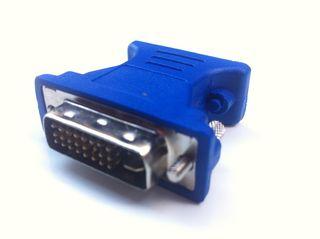 Adaptador DVI-D (24+5) Pin Macho a VGA Hembra